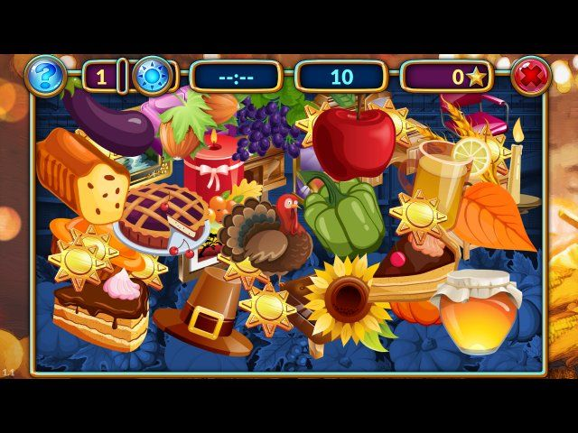 Скриншот к игре «Shopping Clutter 4: A Perfect Thanksgiving» №1