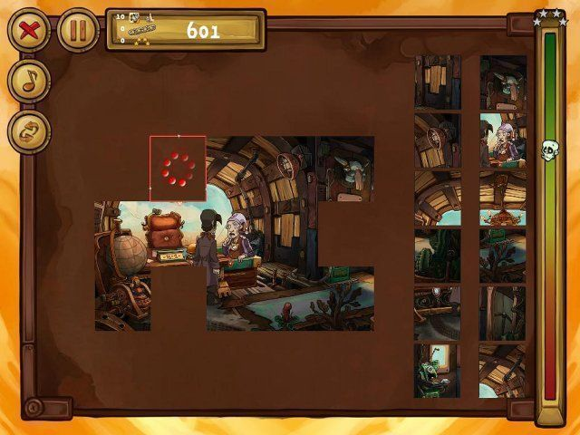 Скриншот к игре «Welcome to Deponia - The Puzzle» №3